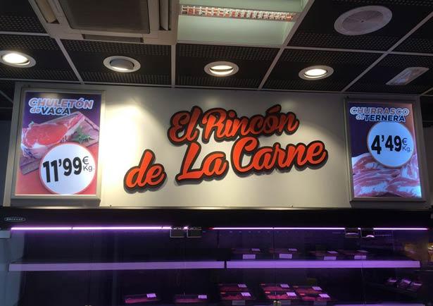 Publicidad El Rincón de la Carne