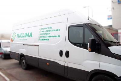 Rótulo económico furgoneta IVECO