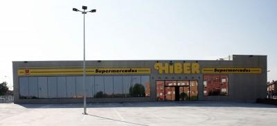 Rótulo luminoso supermercado HIBER