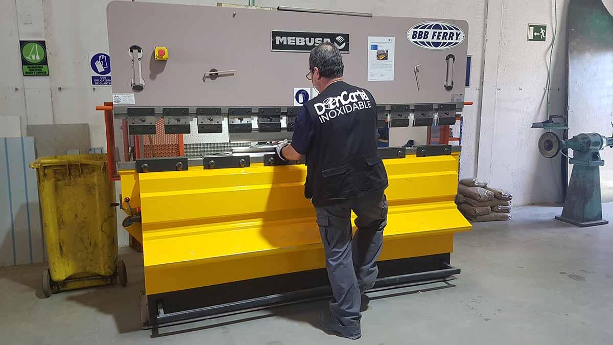 Fabricación de Mobiliario Inox Madrid