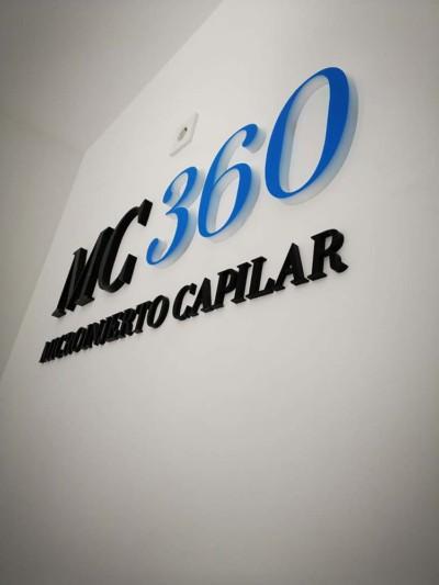 Letras Corpóreas MC 360 Microinjerto Capilar