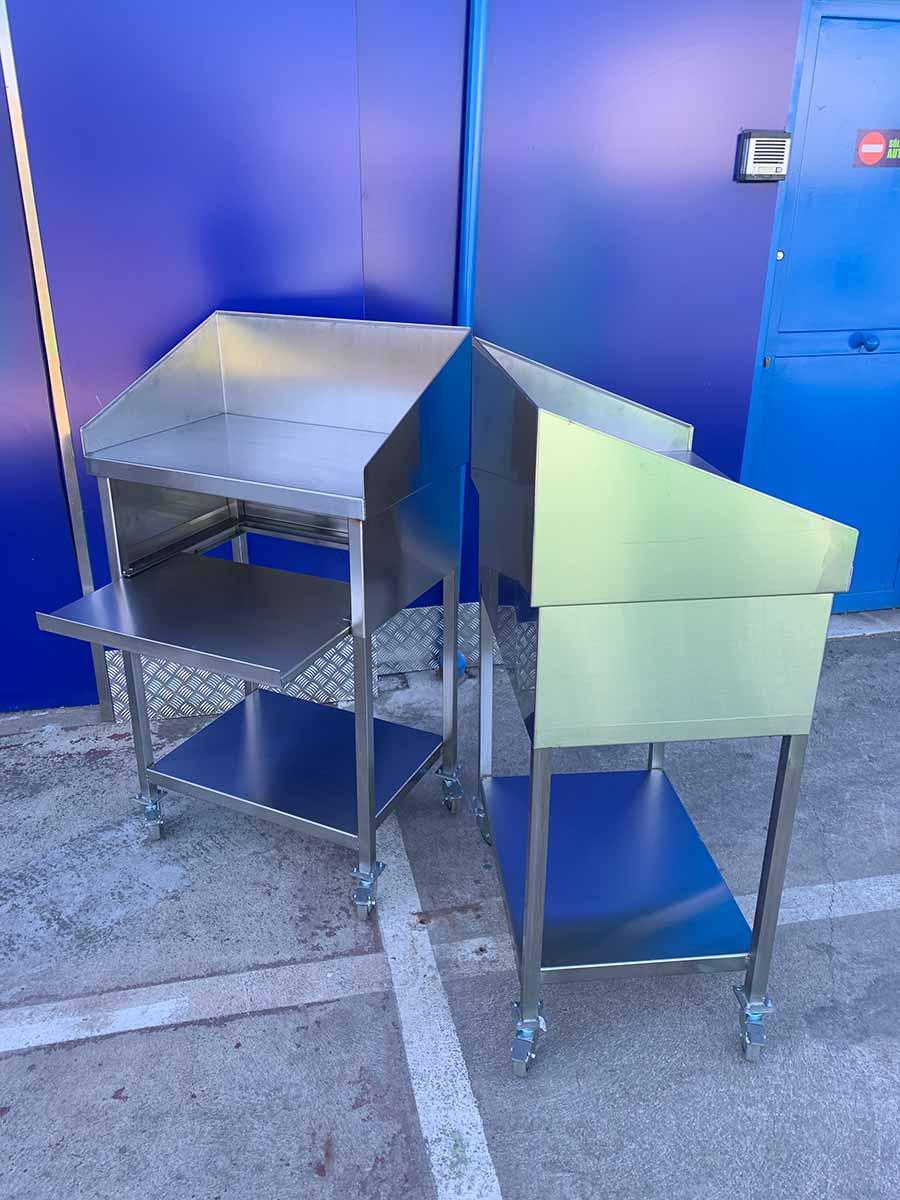 muebles inox a medida 2019