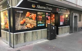 Reforma Fachada Ahorra Fruta - El Sabroso