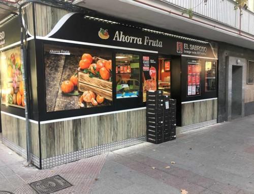 Reforma Fachada Ahorra Fruta – El Sabroso