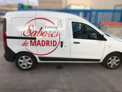 Rotular Dacia Dokker catering sabores de madrid