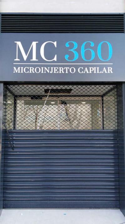 Rótulo y Fachada MC 360 Microinjerto capilar