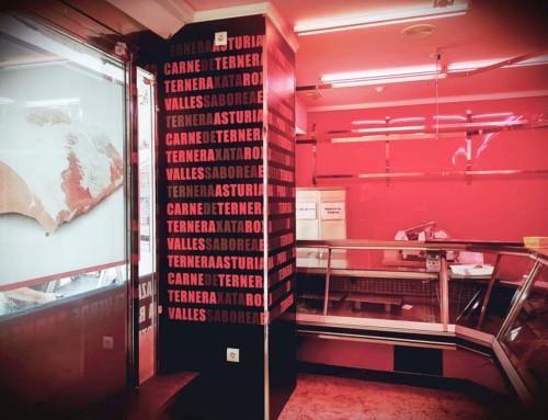 Revestimiento de columnas y paredes con impresión digital