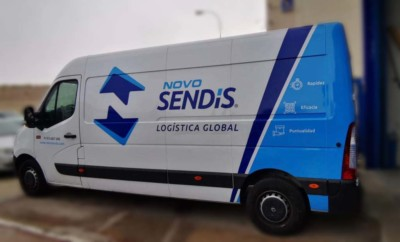 Rotulación furgoneta Renault Novo Sendis